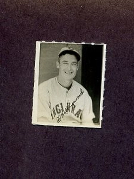 1935-1937 George Burke Photo Stamp AL HOLLINGSWORTH Cincinnati Reds